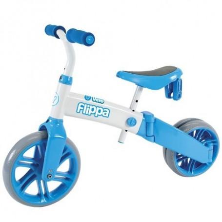 Tricicleta si bicicleta fara pedale Ybike Yvelo Flippa 2 in 1