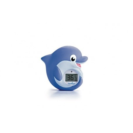 Termometru 2 in 1 de baie si camera Delfin 1006