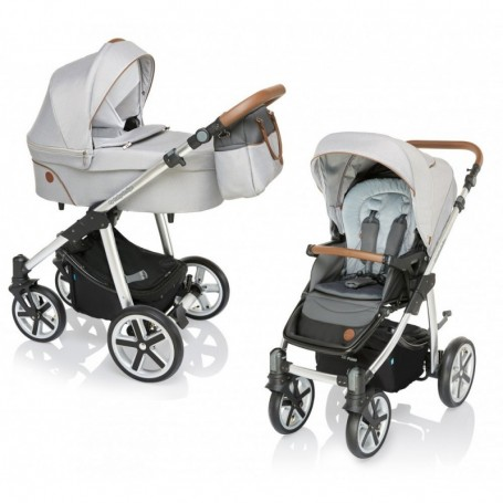 Carucior multifunctional Baby Design Dotty 2019 Gri