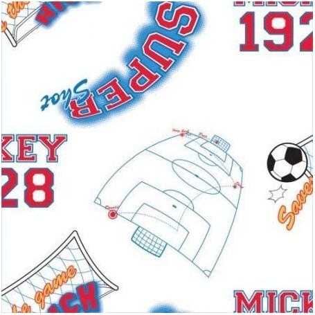 Rola tapet 10 X 0,52 m Mickey Footbal TA71999