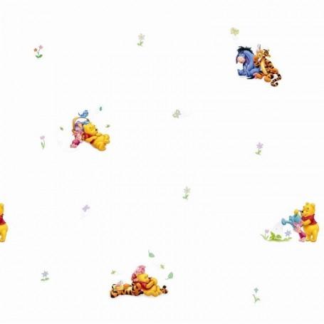 Rola tapet 10 X 0,52 m Winnie the Pooh TA00699