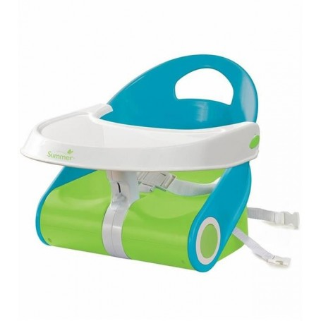 Booster Sit 'n Style, Blue/Green Summer 13456