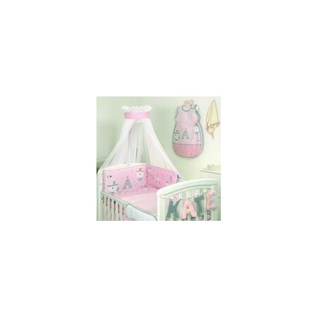 Lenjerie 3 piese Indi Pink Jolie