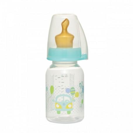 Biberon Family Unisex PP 125 ml cu tetina latex pt ceai, nr 1, nip 35004