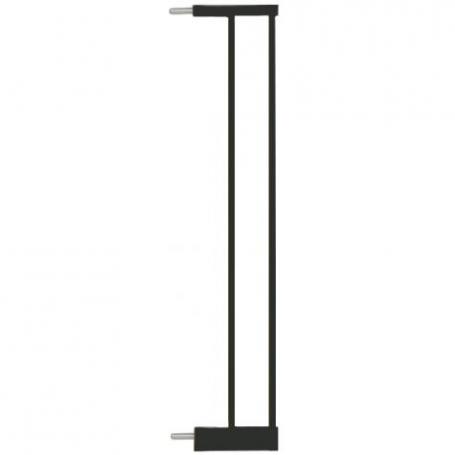 Extensie poarta de siguranta Noma, metal negru, 14 cm N93835
