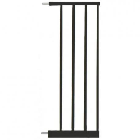 Extensie poarta de siguranta Noma, metal negru, 28 cm N93484